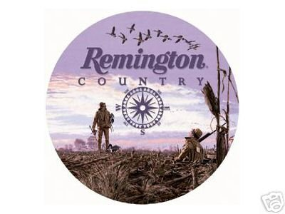REMINGTON COUNTRY TIN SIGN METAL ADV AD SIGNS R