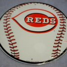 REDS BASEBALL SIGN METAL ADV AD SIGNS R