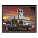 CRANKSHAFT MOTORS TIN SIGN RETRO HOT ROD SIGNS C