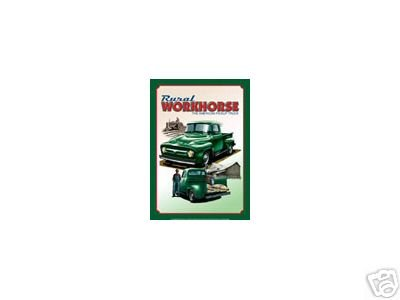 RURAL WORKHORSE FORD SIGN RETRO TRUCK METAL ADV SIGNS F