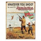 REMINGTON TIN SIGN METAL RETRO ADV SIGNS R