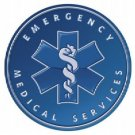 EMERGENCY MEDICAL SERVICES TIN SIGN METAL ADV SIGNS E
