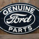 GENUINE FORD PARTS PORCELAIN-COAT SIGN