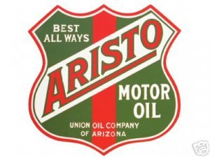 ARISTO MOTOR OIL SIGN NEW METAL ADV SIGNS A
