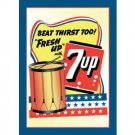 7 UP TIN SIGN RETRO METAL ADV SIGNS