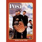 SATURDAY EVENING POST - APRIL 23, 1949 TIN SIGN