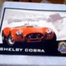 SHELBY  COBRA  TIN SIGN METAL ADV SIGNS S