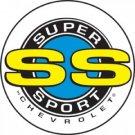 CHEVROLET SUPER SPORT SIGN RETRO METAL ADV SIGNS C