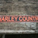 MOTORCYCLE COUNTRY SIGN  METAL ADV SIGNS H