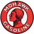 MOHAWK GASOLINE SIGN METAL ADV AD SIGNS NIB M