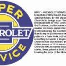 SUPER CHEVROLET SERVICE SIGN RETRO METAL ADV SIGNS NIB