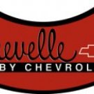 RED CHEVELLE SIGN METAL RETRO ADV SIGNS C
