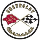 CHEVROLET CORVETTE STEEL SIGN METAL CAR ADV RETRO SIGNS