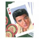 ELVIS KING OF HEARTS TIN SIGN
