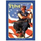 ROSIE THE RIVETER TIN SIGN METAL ADV SIGNS