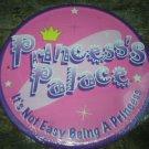PRINCESS'S PALACE TIN SIGN METAL ADV SIGNS