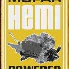 MOPAR HEMI POWERED TIN SIGN METAL RETRO ADV SIGNS M
