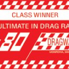 75-80 DRAGWAY SIGN RETRO STEEL SIGNPAST SIGNS M