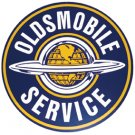 LARGE OLDSMOBILE ADV SIGN RETRO METAL SIGNPAST SIGNS O