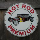 HOT ROD PREMIUM PORCELAIN-COAT SIGN METAL AUTO SIGNS H