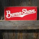 BURMA SHAVE PORCELAIN-COATED SIGN B