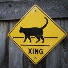 CAT XING PORCELAIN-COATED SIGN C