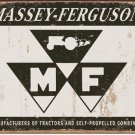 MASSEY FERGUSON TIN SIGN METAL RETRO ADV SIGNS M