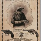 SMITH WESSON REVOLVERS TIN SIGN RETRO METAL ADV SIGNS I