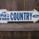 FORD COUNTRY ARROW  SIGN RETRO METAL ADV SIGNS F