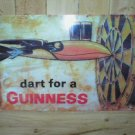 GUINNESS DARTS TIN SIGN