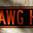 HAWG HEAVEN SIGN RETRO MOTORCYCLE ADV SIGNS B
