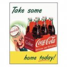 COCA-COLA TIN SIGN METAL ADV TIN SIGNS C