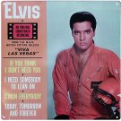 ELVIS PRESLEY TIN SIGN VIVA LAS VEGAS E