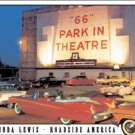ROUTE 66 DRIVE-IN TIN SIGN METAL RETRO ADV SIGNS C