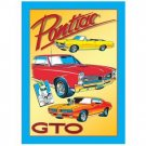 GTO PONTIAC RETRO TIN SIGN