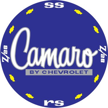 CAMARO BAKED ENAMEL SIGN 18 GAUGE STEEL
