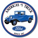 FORD TRUCKS RETRO TIN SIGN