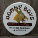 DONNY BOYS HORSE LINIMENT TIN SIGN