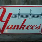 YANKEES BASEBALL TIN SIGN