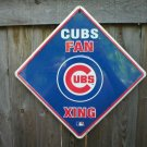 CUBS FANS XING TIN SIGN
