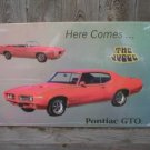 PONTIAC GTO JUDGE TIN SIGN