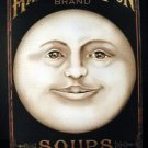 HARVEST MOON SOUPS TIN SIGN