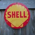 SHELL PORCELAIN-COAT SIGN