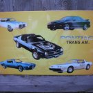 PONTIAC TRANS AM TIN SIGN