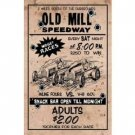 OLD MILL SPEEDWAY MIDGET RACING SIGN