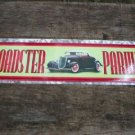 ROADSTER PARKING SIGN  METAL ADV SIGNS