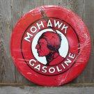 MOHAWK GASOLINE METAL TIN SIGN