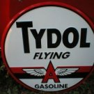 TYDOL FLYING A GASOLINE SIGN LARGE