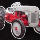 FORD TRACTOR DIE-CUT METAL TIN SIGN