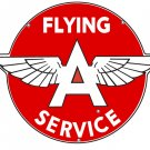 FLYING A SERVICE METAL STEEL LARGE SIGN